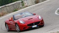 Ferrari California, vista 3/4 anteriore