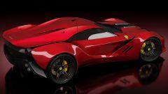 Ferrari CascoRosso concept: una Ferrari o una Corvette? - Immagine: 3