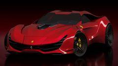 Ferrari CascoRosso concept: una Ferrari o una Corvette? - Immagine: 4
