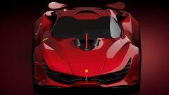 Ferrari CascoRosso concept: una Ferrari o una Corvette? - Immagine: 5