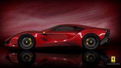 Ferrari CascoRosso concept: una Ferrari o una Corvette? - Immagine: 6