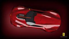 Ferrari CascoRosso concept: una Ferrari o una Corvette? - Immagine: 7