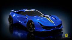 Ferrari CascoRosso concept: una Ferrari o una Corvette? - Immagine: 8