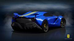 Ferrari CascoRosso concept: una Ferrari o una Corvette? - Immagine: 9