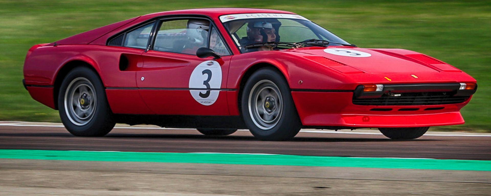 Ferrari Classiche Academy: il corso di guida con le storiche