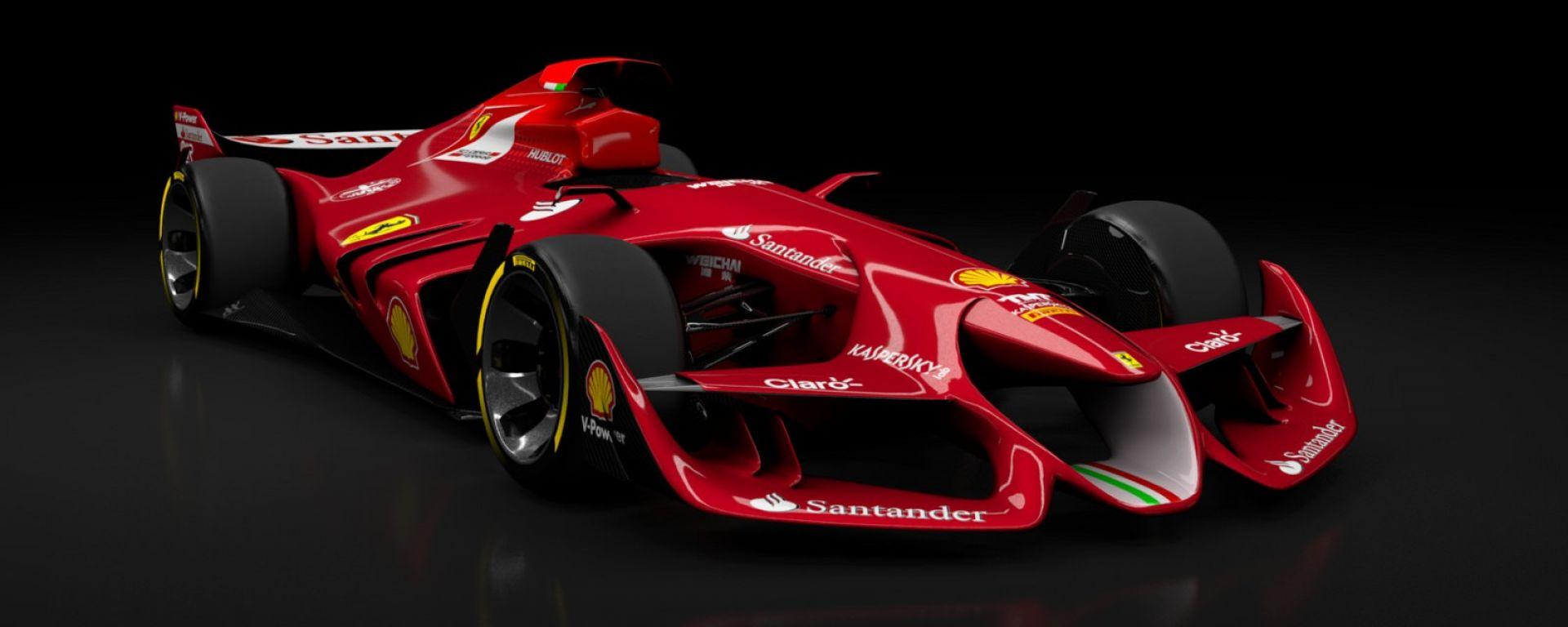 Ferrari - Concept fan made