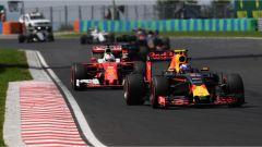 Ferrari e Red Bull in lotta al GP d'ungheria