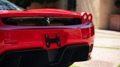 Ferrari Enzo, il posteriore visto da vicino