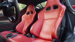 Ferrari Enzo: interni, i sedili in pelle