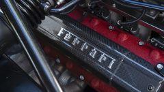 Ferrari Enzo: particolare del V12