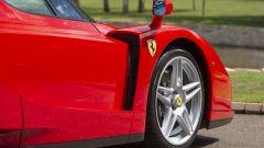 Ferrari Enzo: particolare della fiancata destra