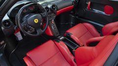 Ferrari Enzo: particolare dell'abitacolo