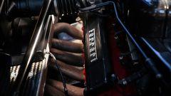 Ferrari Enzo, un dettaglio del motore