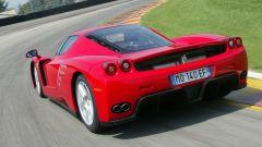 Ferrari Enzo, vista 3/4 posteriore