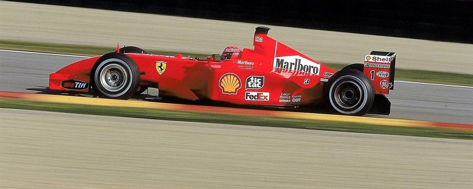 Ferrari F1: all'asta la monoposto 2001 di Michael Schumacher