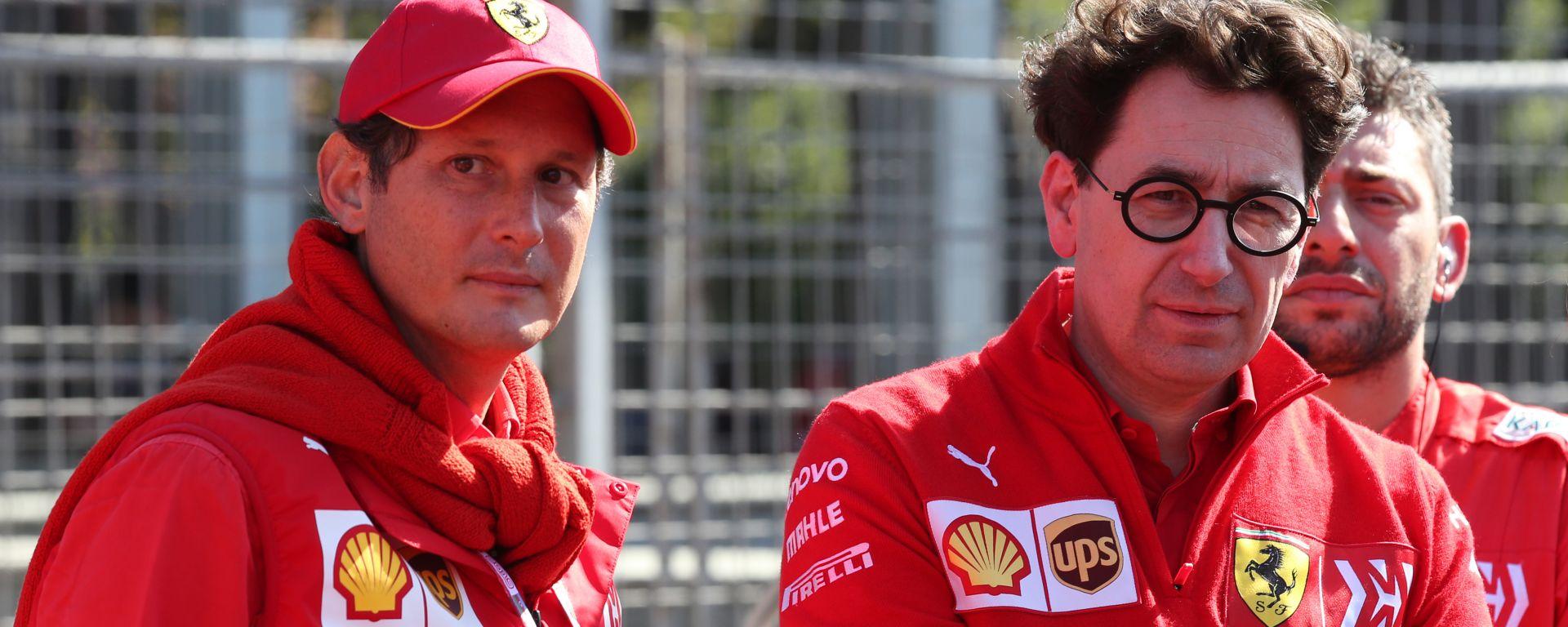 """Ferrari, Elkann ha fiducia in Binotto: """"Era con Todt e Schumacher, sa come vincere"""""""