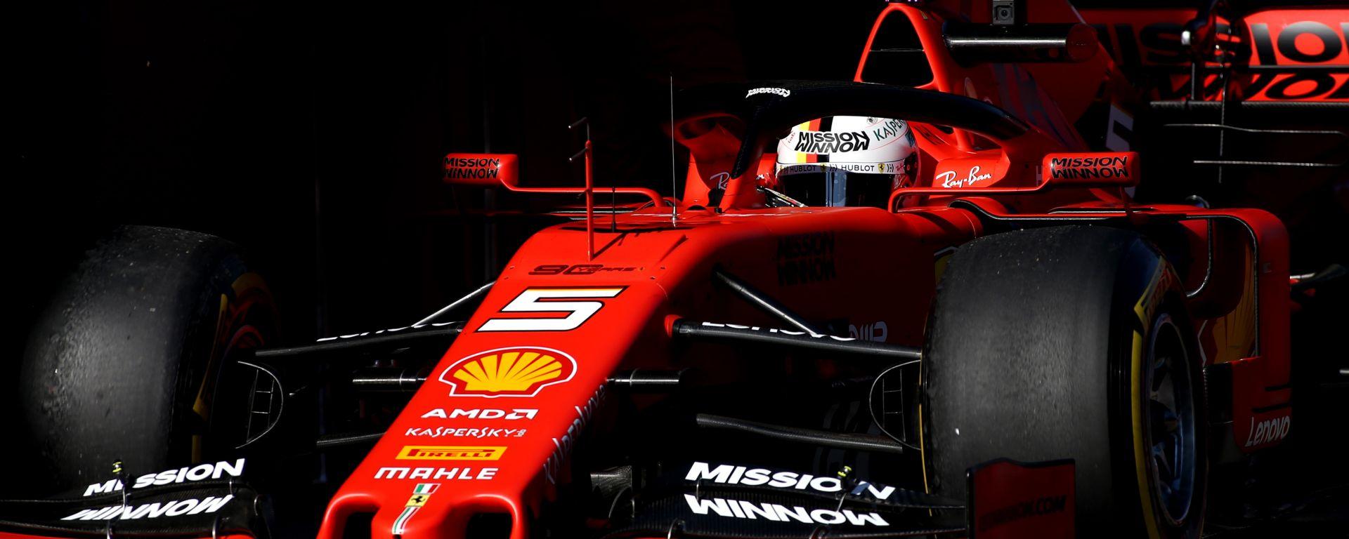 "Ferrari, Vettel battezza la SF90: ""Si chiamerà Lina"""
