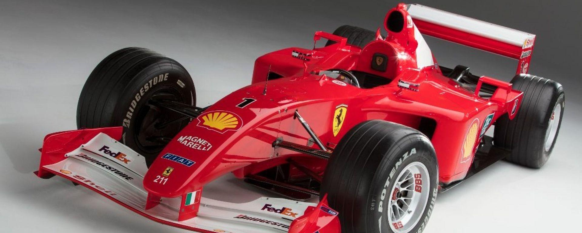 Ferrari F2001 di Michael Schumacher
