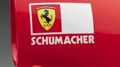 Ferrari F2001, Schumacher decal
