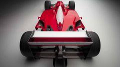 Ferrari F2001, vista posteriore