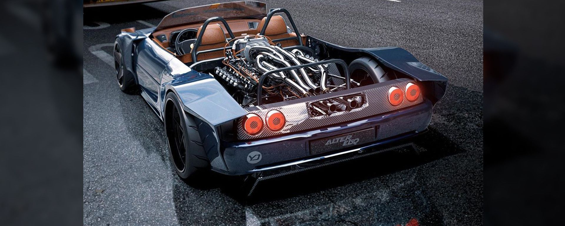 Ferrari F355 Chop Top by AlYasid Oozeear