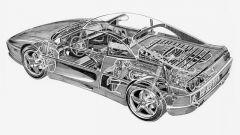 Ferrari F355 disegno