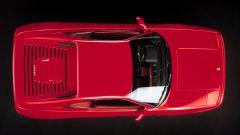 Ferrari F355 vista dall'alto