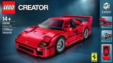 Ferrari F40: c'è pur sempre il modellino della Lego...