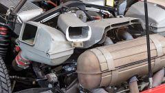 Ferrari F40: dettaglio del vano motore