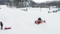 Ferrari F40: storia di drift sulla neve - Immagine: 3