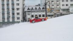 Ferrari F40: storia di drift sulla neve - Immagine: 5