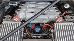 Ferrari F40: gli intercooler del V8 biturbo