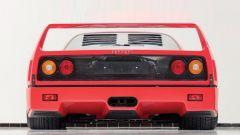 Ferrari F40: il posteriore