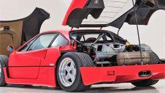 Ferrari F40: il vano motore