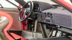 Ferrari F40: la plancia