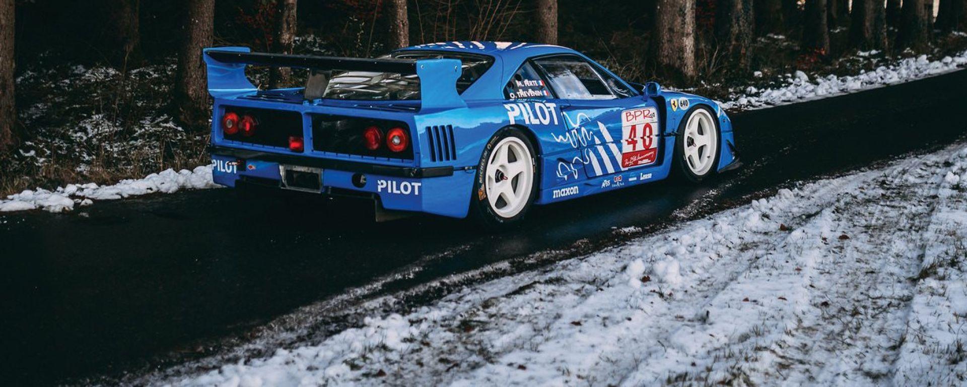 Ferrari F40 LM: all'asta la Ferrari delle Ferrari