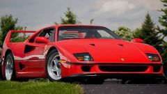 Ferrari F40 LM: vista 3/4 anteriore