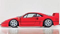 Ferrari F40: vista laterale