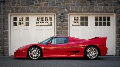 Ferrari F50 Berlinetta Prototipo: visuale laterale