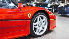 Ferrari F50: dettaglio del cerchio anteriore