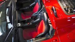 Ferrari F50: gli interni