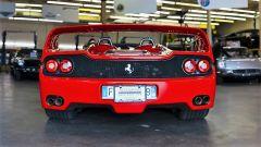 Ferrari F50: vista posteriore