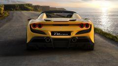 Ferrari F8 Spider, il posteriore