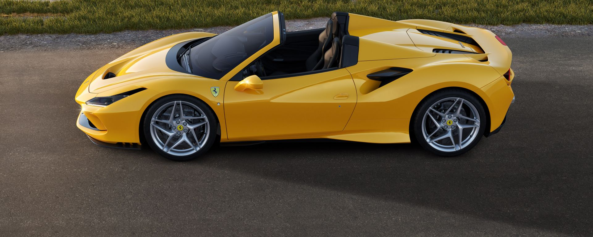 Ferrari F8 Spider, la fiancata