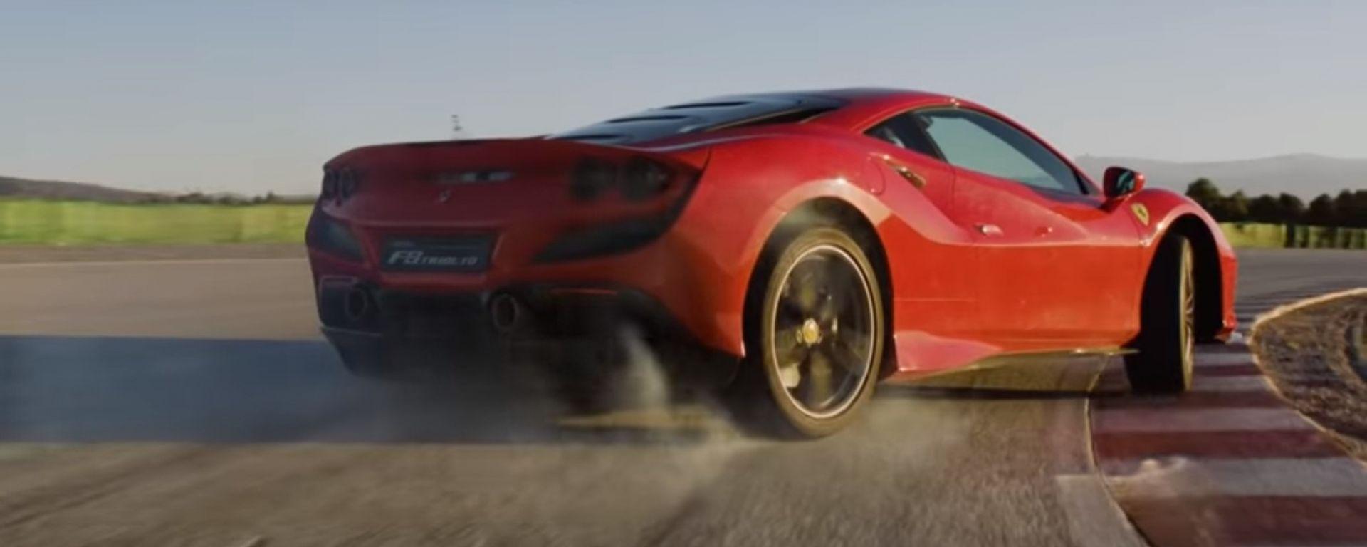 Ferrari F8 Tributo: un video mostra le performance su strada e pista