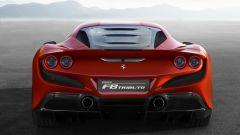 Ferrari F8 Tributo: il posteriore