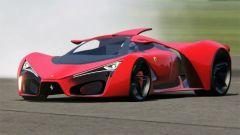 Ferrari F80 Concept al simulatore