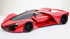 Ferrari F80 Concept: il rendering