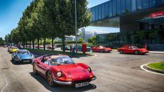 Ferrari festeggia i 50 anni dalla prima messa su strada della Dino - Immagine: 2