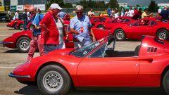 Ferrari festeggia i 50 anni dalla prima messa su strada della Dino - Immagine: 8